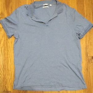 Calvin Klein Skyblue Collar Shirt